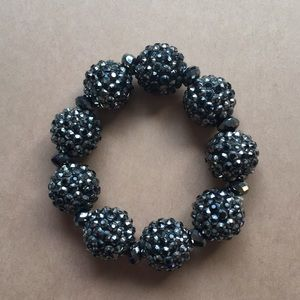 Jewelry - LAST CHANCE! Black Beaded Bracelet